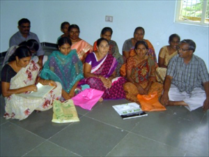The Students and Mothers participate in the meetings of Women Societies at Achim Training Centre.